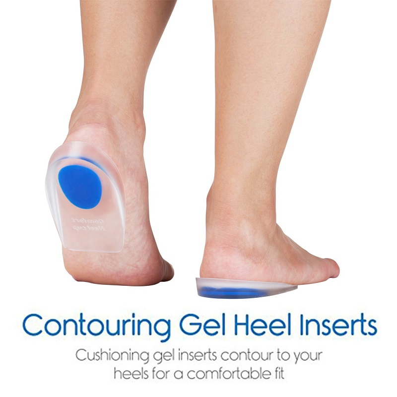 Heel Cups Cushions Insoles ... Heel That Pain Heel Seats Foot Orthotic Inserts