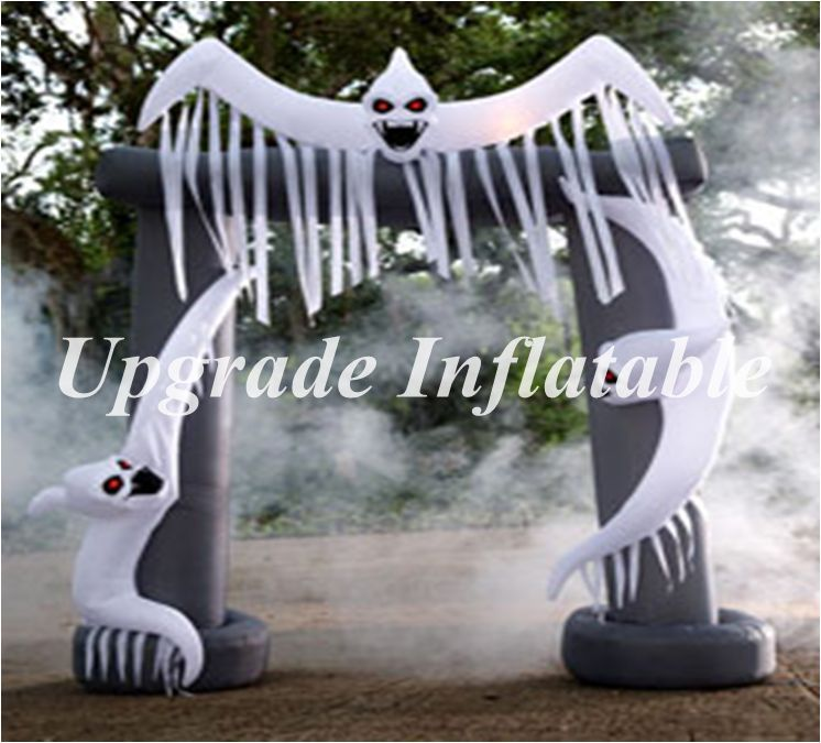 2018 newest halloween party use inflatable halloween arch with ghost for yard decoration in ballons accessories from home garden on aliexpresscom