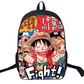 Cool Young Women Men School Bags Anime Designer Nylon Backpack Cartoon Pirate One Piece Backpack Satchel For Teenager Daily Bag