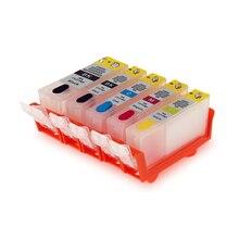 For Canon MG5240 printer ink cartridges PGI-425 CLI-426 Refillable PiXMA MX884 MG5140  IP4840 IX6540