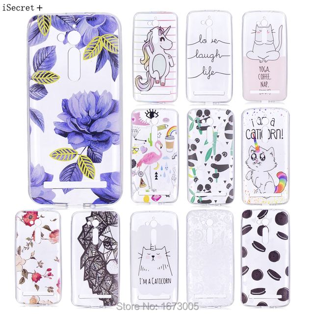 For ASUS ZB500KL Case cover Silicone Soft TPU Cases for For ASUS Zenfone GO ZB500KL ZB500KG Funda X00AD X00ADC A00ADA X00BD 5.0""
