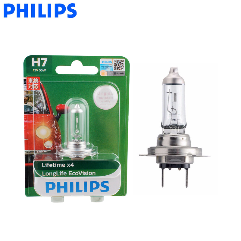 Philips X-treme Vision H1 Car Headlight Bulb 12258XV+B1 130/% 12V P14 single