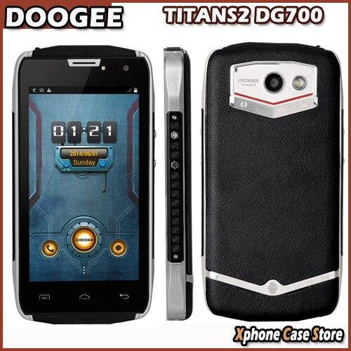 "Original DOOGEE TITANS2 DG700 8GB ROM 1GB RAM 4.5"" Android 4.4 SmartPhone MTK6582 Quad Core Support OTG 3G GSM&WCDMA 4000mAh"
