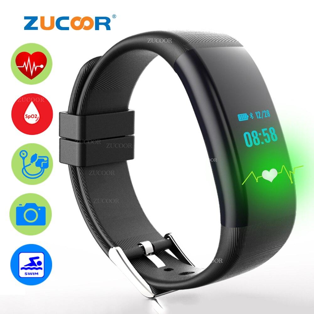 Smart Fitness Pulso Bracelet Pulse Band Swim Watch Heart Rate Blood Pressure Oxygen Monitor Wristband Pedometer