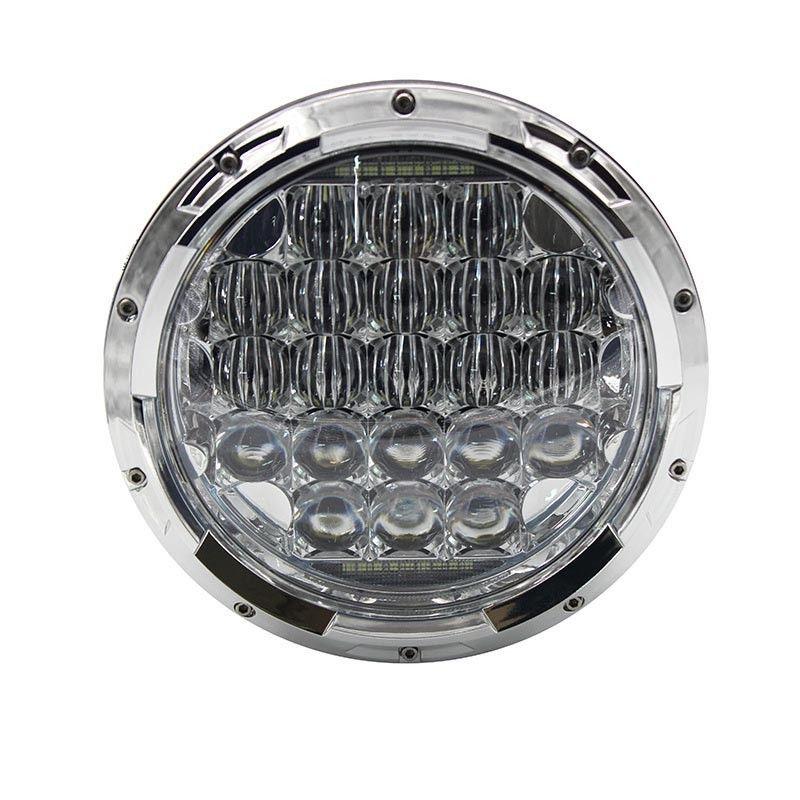 105W 7Inch 5D Round Projector LED Headlight with DRL Hi-Lo Beam for Jeep Wrangler JK TJ LJ CJ Hummer