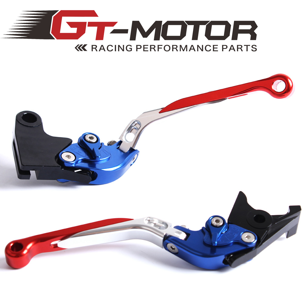 GT Motor - F-14 T-333 Adjustable CNC 3D Extendable Folding Brake Clutch Levers For Triumph SPEED TRIPLE TIGER 1050Sport THRUXTON gt motor f 16 dc 80 adjustable cnc 3d extendable folding brake clutch levers for moto guzzi breva 1100 norge 1200 gt8v