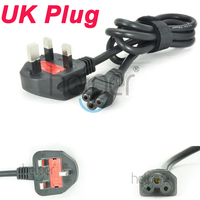 100 240V 10A AC Power Supply Adapter Cord Cable Lead 3 Prong For Laptop UK Plug