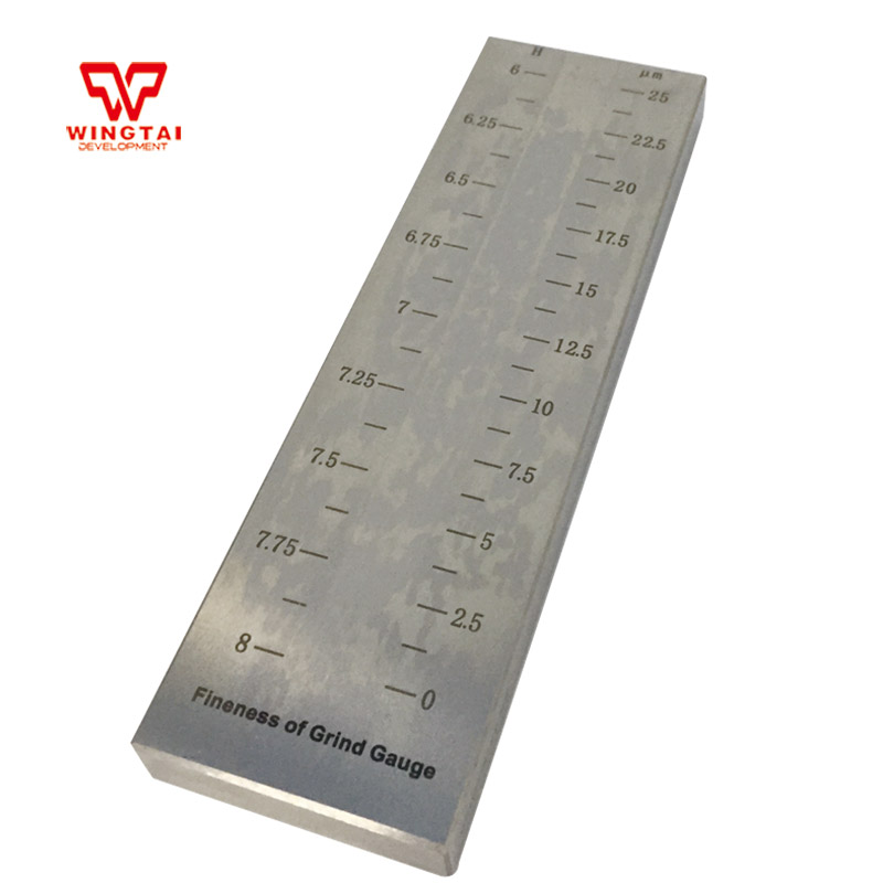 0-25 Microns Stainless Steel Single Groove Fineness Grindometer BGD241/10-25 Microns Stainless Steel Single Groove Fineness Grindometer BGD241/1