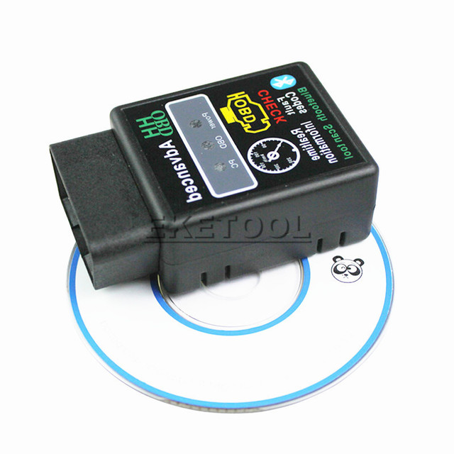 Hardware V1.5 PIC18F25K80 Bluetooth Mode HH OBD ELM327 Bluetooth Auto Code Reader Diagnosis Works Multi-Cars ELM 327 BT Android