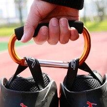 1 piece 135x9cm Big Large Carabiner Hand Hook Carry For Roller Skate Shoes Random Color цены онлайн