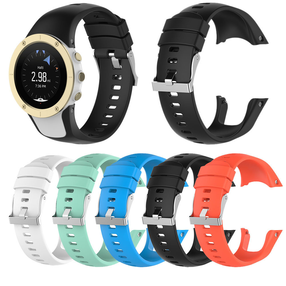 2020 New Replacement Silicone Watch Strap Band For SUUNTO Spartan Trainer / Trainer Wrist HR Sports Watch W/Tools