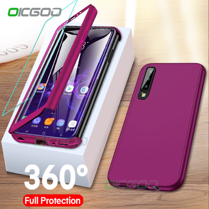 360 Degree Phone Case For Samsung Galaxy J4 J6 A6 A8 Plus J8 A7 2018 Full Cover Cases For Samsung A5 A7 A3 J5 J7 2017 Case Coque