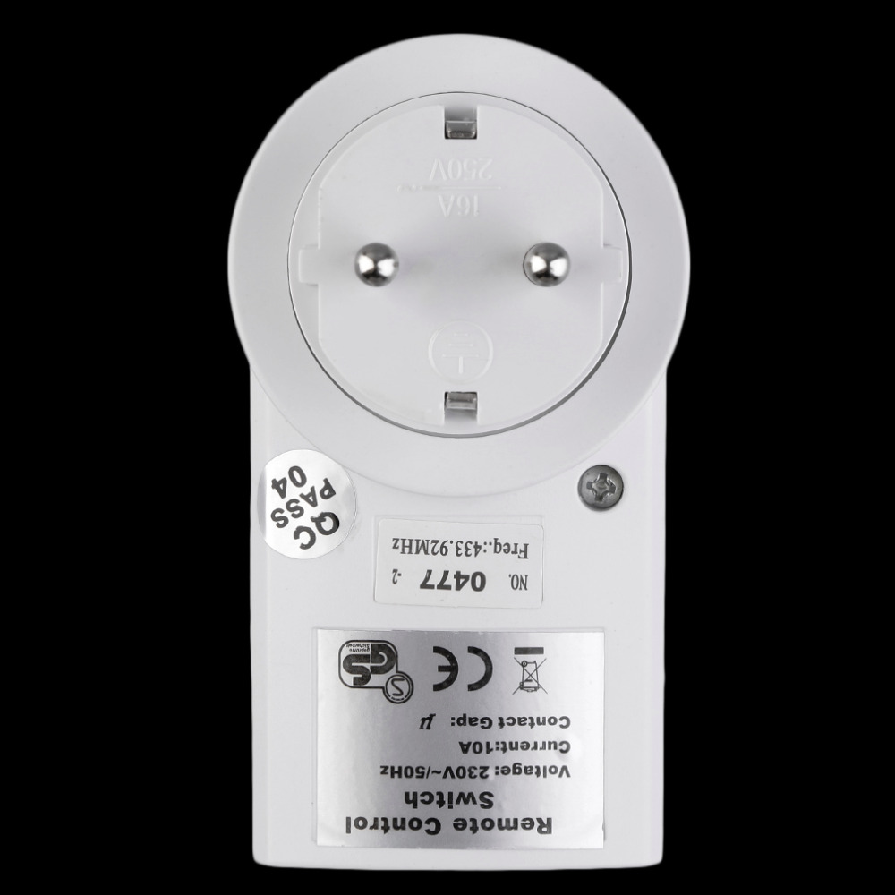 Wireless Remote Control Switch Home House Power Outlet Light Switch ...