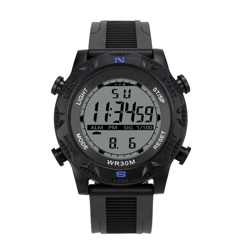 Men Analog Digital Military Army Sport LED Waterproof Wrist Watch Reloj Clock Electronic Watch