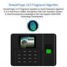 купить Eseye Biometric Fingerprint  Attendance System TCP/IP USB Fingerprint Time Attendance Reader Time Clock Office Employee Device по цене 2821.48 рублей
