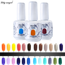 15ml Soak Off Gel Nail Polish UV LED Nail Gel Polish 72 Colors Gelpolish Vernis Semi Permanent Nail Art Gel Varnishes Gel Lak mustela gel lavant doux