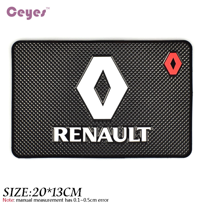 Image 4 - Ceyes Car Styling Mat Interior Accessories Fit For Renault Duster Megane 2 Logan Megane 3 Clio Fluence Capture Scenic 2 Sticker-in Car Tax Disc Holders from Automobiles & Motorcycles