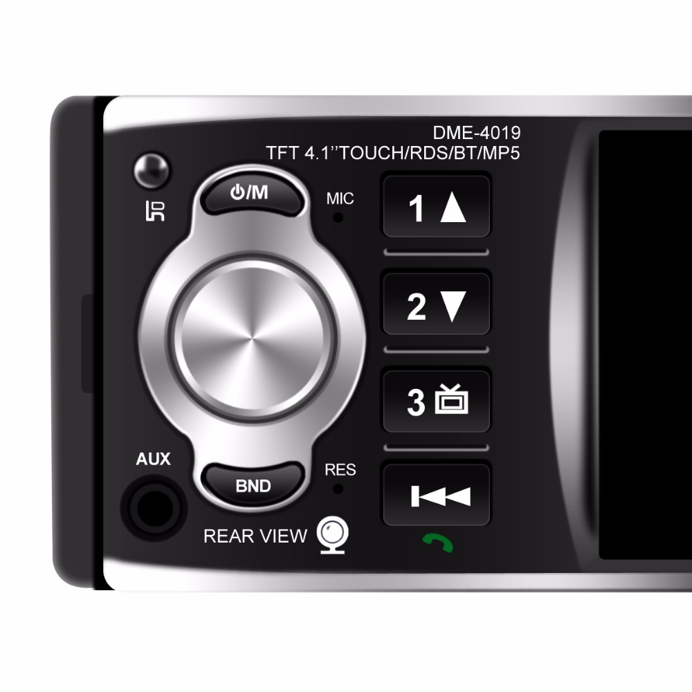 touchscreen Bluetooth audio player