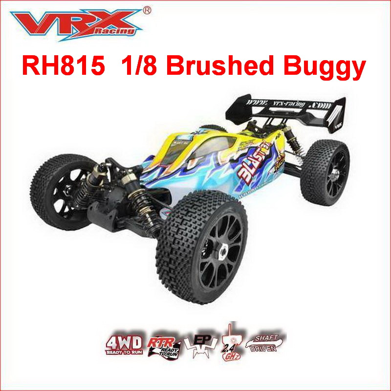 Toys for children VRX Racing RH815 brushed 1 8 scale 4WD Electric off road rc car