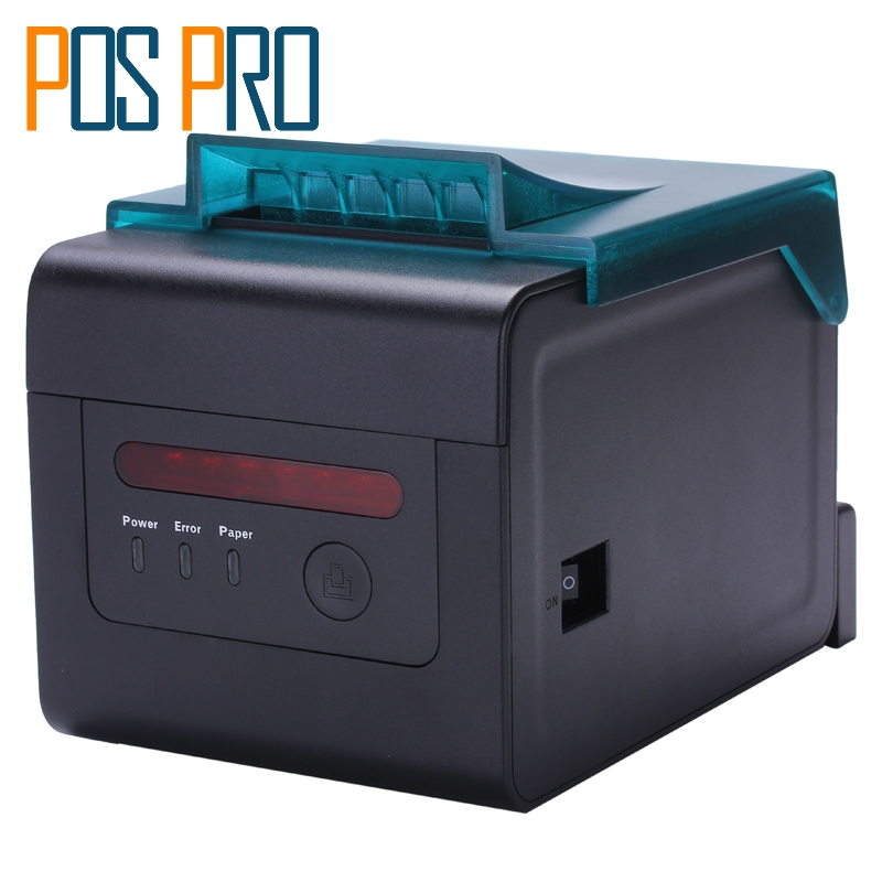 ITPP057 High Quality thermal printer 80mm pos kitchen printer Waterproof automatic cutter USB/Serial/Ethernet Port ESC/POS 80mm thermal barcode lable printer support usb serial parallel ethernet double interface adhesive sticker printer machine