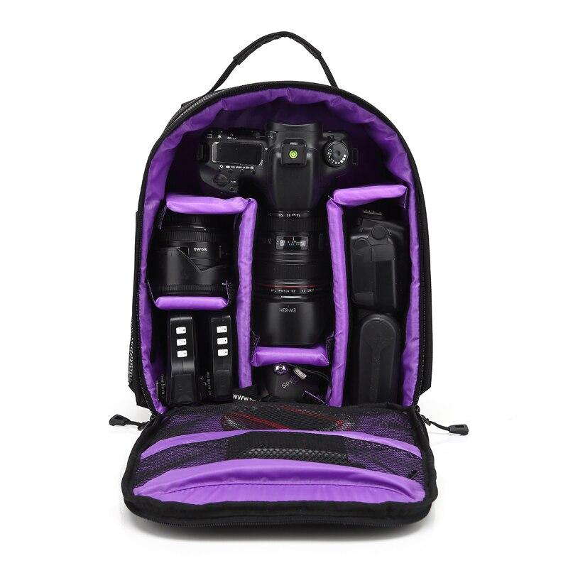 HUWANG DSLR Камера сумка Фото Рюкзак для Canon 1300D 1200D 6D Mak ii 5D Makr ii iii iv 750D 90D 800D Canon Камера чехол для объектива