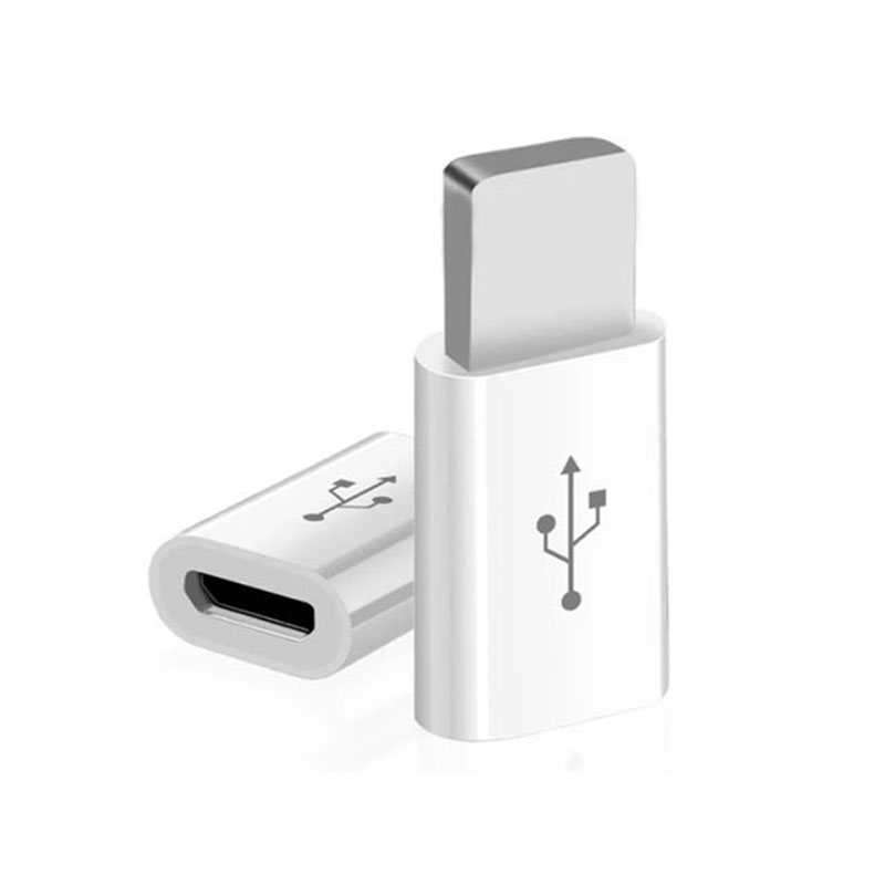 Micro Usb Adapter For IPhone X 7 8 Micro Usb Adapter Charging Data Sync Aadapter For IPhone 6 6s For IPad