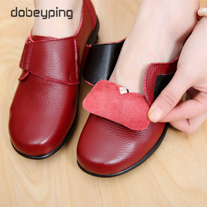 Image 5 - New Arrival Flats Shoes Woman High Quality Genuine Leather Womens Casual Shoes Buckle Mother Walking Footwear Plus Size 35 43
