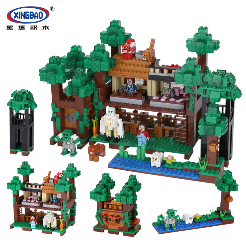 Xingbao 09003 Creative MOC Series The Mysteries of Base Set  Building Blocks Bricks Child Educational legoingly Toys Model Gifts xingbao 01001 creative chinese style the chinese silk and satin store 2787pcs set educational building blocks bricks toys model