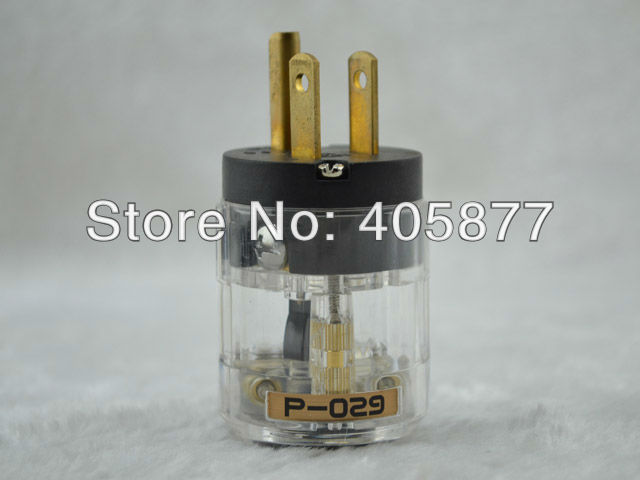 Brand New Hi End viborg audio P029 AC power electric plug power cord connectors