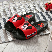 Disney 2019 new sandals and slippers non-slip wear-resistant adult slippers ladies cartoon slippers EU size 37-40