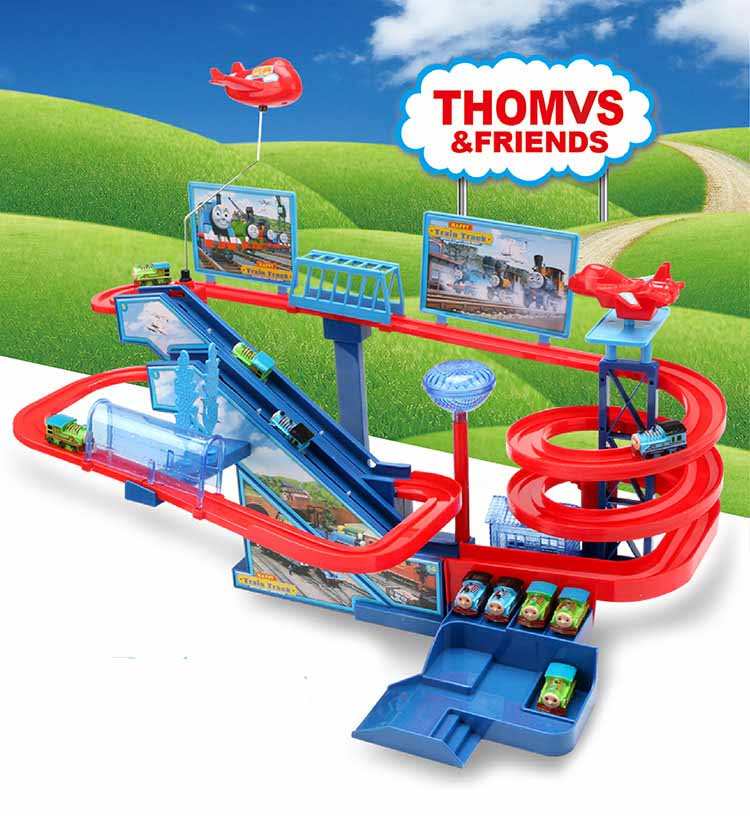 Electric-Train-Tracks-Diy-Railroad-Children-Large-Roller-Coaster-track-Kid-Electric-Train-Toy-Car-Parking-lot-Assemble-Railway-1