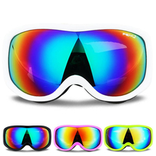 Winter Skiing Glasses Anti-fog Windproof Ski Goggles Uv Protection Skating Cycli