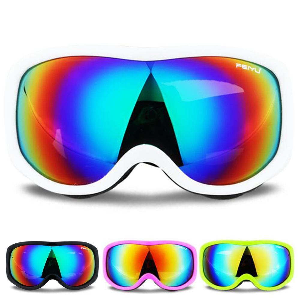 Winter Skiing Glasses Anti-fog Windproof Ski Goggles Uv Protection Skating Cycling Climbing Sunglasses Dustproof Eyewear