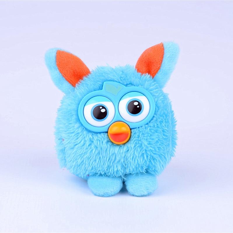 Cute Mini Phoebe Squeeze Sound Plush Electronic Dolls Toy Children Electronic Plastic Talking Speak Toys Pet For Girls Boy  gift