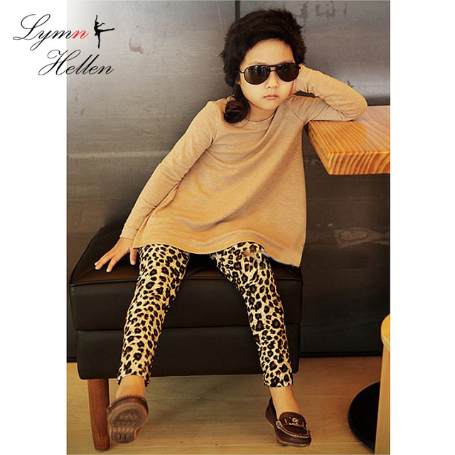 f30e2f941fc2be Baby Girl Trendy Leggings Pants Brown Leopard Animal Print Warm Fashion  Kids Trousers 0-4 Years Spring Autumn Winter Play Mats