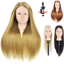 Mannequin Head Hair Maniqui Hairdressing Practice Heads Maniquies Women Educational Training Hairdresser Styling Head For Makeup