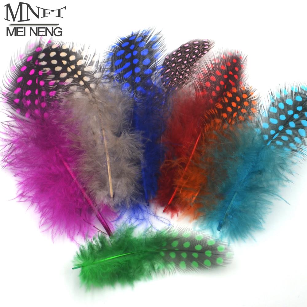 Guinea mnft 50 unids/lote colores mezclados combo material de perlas de plumas d