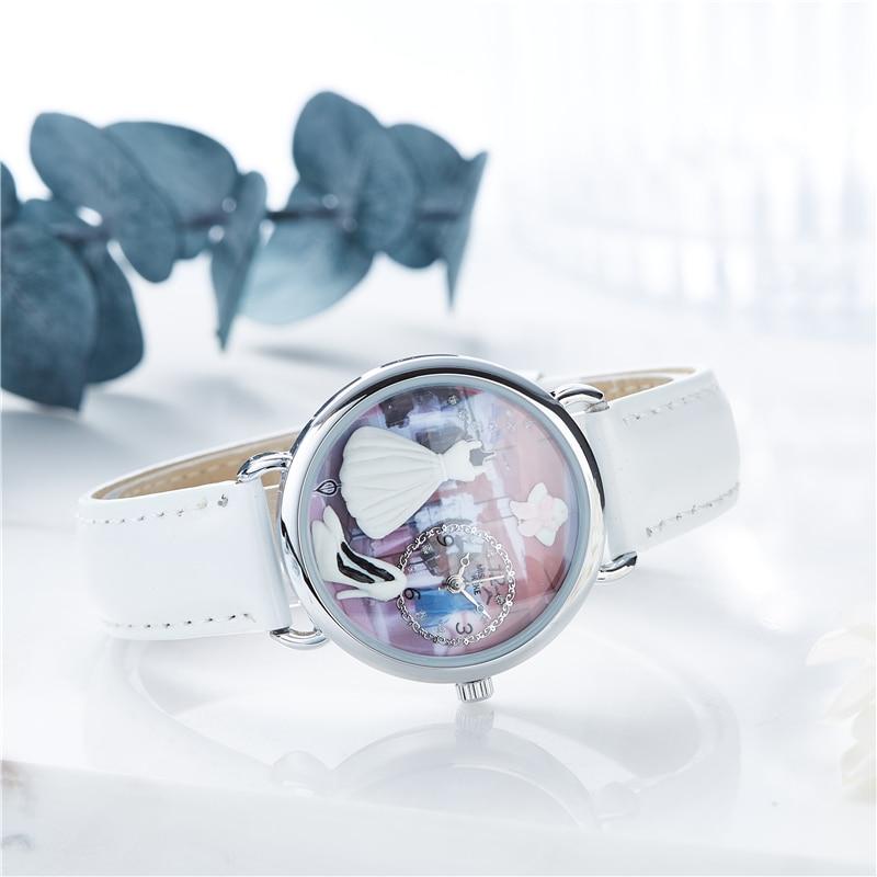 Μις Keke 2018 Νέο σχέδιο Clay Χαριτωμένο - Παιδικά ρολόγια - Φωτογραφία 4