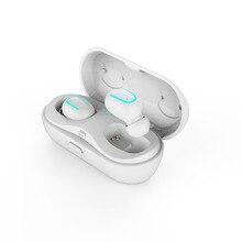 Bluetooth 5.0 TWS Bilateral Com As Chamadas de Caixa De Carregamento Microfone Fone de Ouvido fone de Ouvido Sem Fio Bluetooth Fones de Ouvido Estéreo Fone de Ouvido fone de ouvi