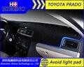 Высокое качество Избегайте свет pad Для 2010-2016 TOYOTA PRADO приборной панели автомобиля теплоизоляция pad