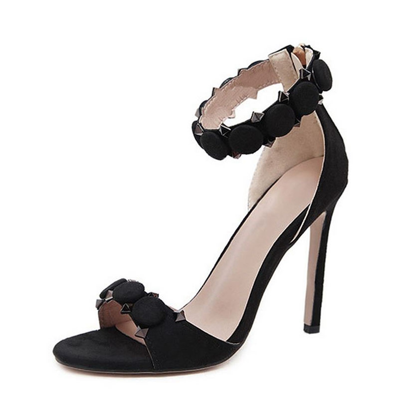Sandalias Casuales Tacones Clásicos Super Zapatos Zyl2220 pink Mujeres Para Superficial Size34 black De white red Mujer Enmayla Alta 43 blue Apricot pWSFSq