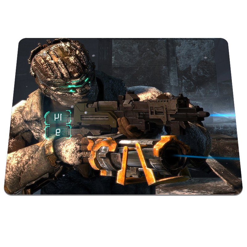 Top fashion Dead Space Pattern High quality Optical Notebook Computer Mouse Mat Durable Gaming Rectangular Mouse Pad