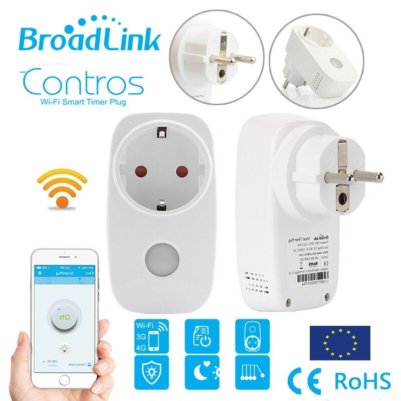 imágenes para Broadlink SP3, metro de Energía del monitor SP3S, 16A + temporizador wifi casa Inteligente enchufe del zócalo outlet, Inalámbrico controles para El Iphone Android