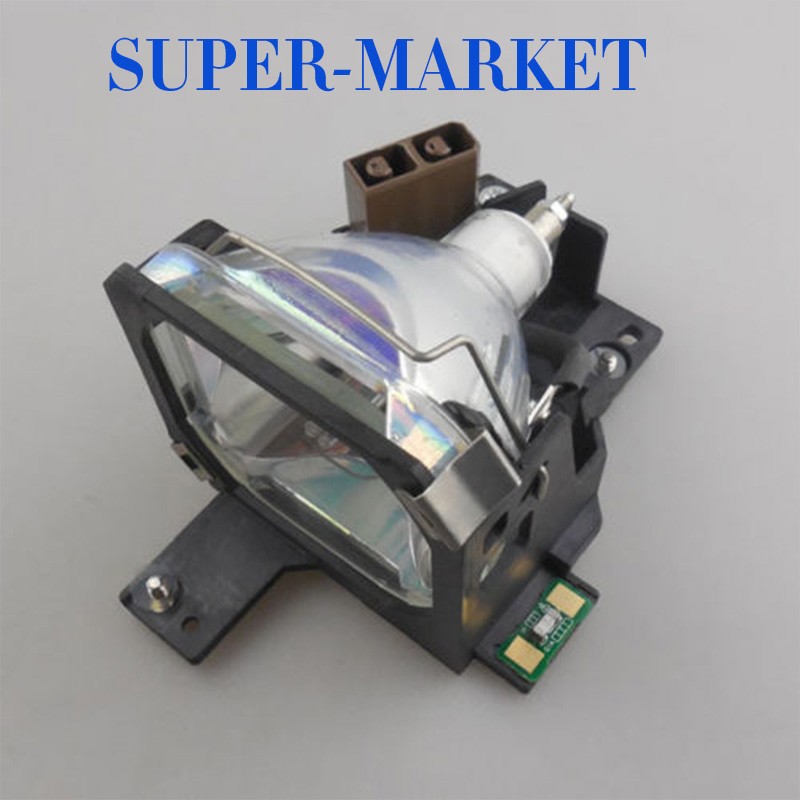 Free Shipping Compatible manufacturer projector lamp With Housing ELPLP05 for PowerLite 5300 7200 7300 Projectors free shipping original projector lamp with housing lt30lp 50029555 for nec lt25 lt30 lt25g lt30g projectors