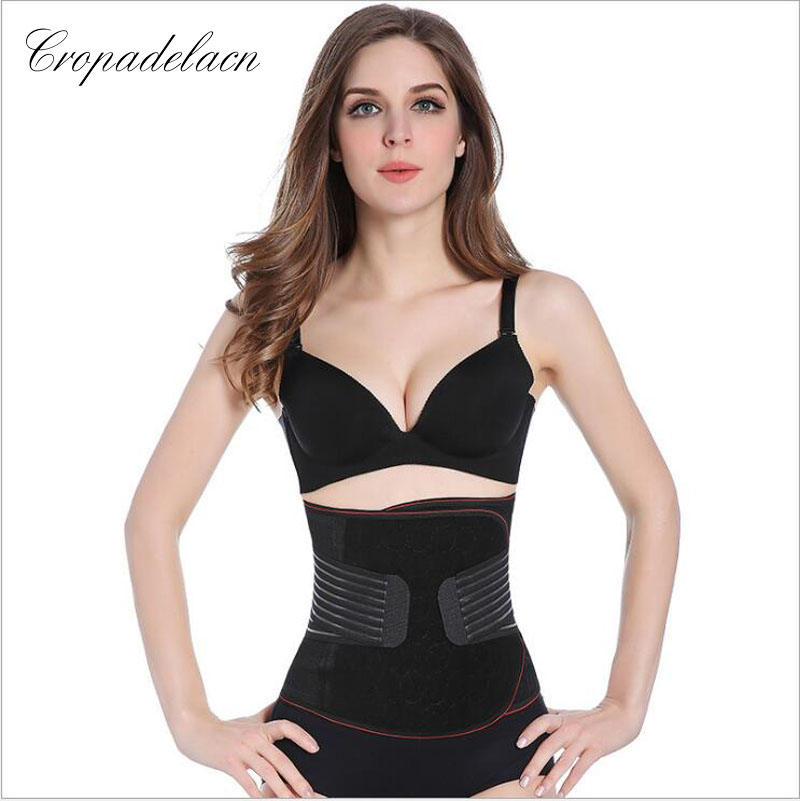 Luxury Women Breathable Slimming wraps Body Shaper Tummy Control Sashes Shapewear Waist Trainers Corsets MR054 3