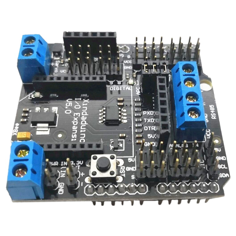 Standard I/o Expansion Shield V5 Xbee Sensor Shield Rs485 V5 For Arduino Funduino Board Module