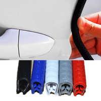 Universal Car Door Edge Scratch Protector 5m Strip Sealing Guard Trim Automobile Door Stickers Decoration Protector Car-styling