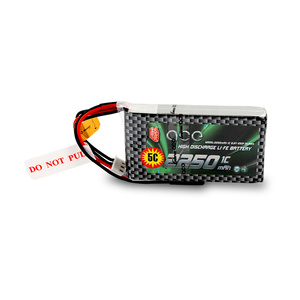 Image 3 - Gens ace 2250mAh 6.6V 2S1P LiFe Battery Pack with BBL1 Futaba 3P Plug for 14SG 4PLS T8J Remote Control
