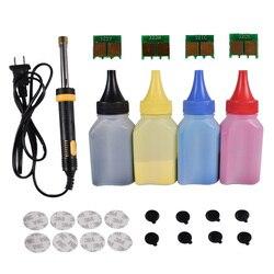 Refill toner Poeder cartridge tool kit + 4 pcs chip VOOR HP CF210A cartridge LaserJet Pro M251nw M276n nw