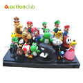 "Super Mario Bros 1 conjunto 1 "" - 2.5 "" brinquedo dinossauro yoshi figura Super Mario yoshi action Figure PVC retai"